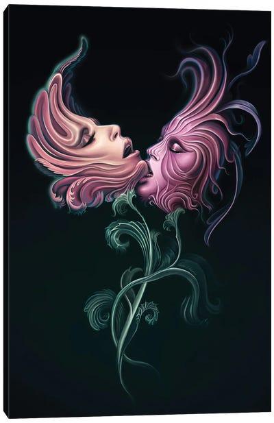 Passion Flowers I Canvas Art Print