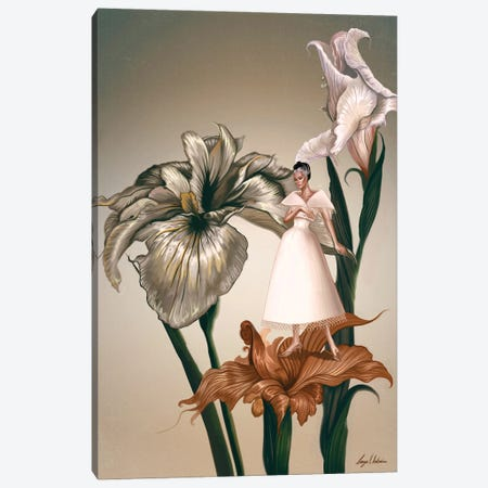 Daphne In The Garden Of Eden Canvas Print #GVA17} by George V. Antoniou Art Print