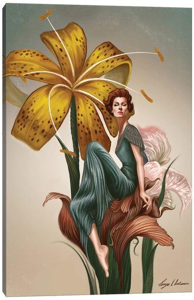 Marella In The Garden Of Eden Canvas Art Print