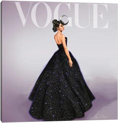 Audrey Hepburn Vogue Cover Canvas Art Print