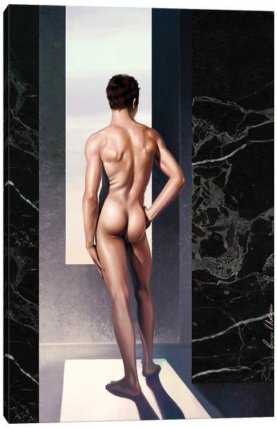 Male Nude Canvas Art Print