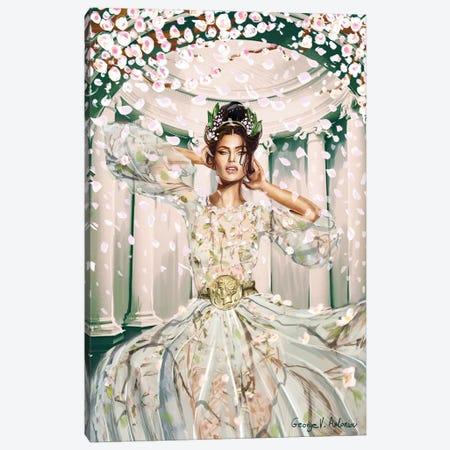 Galatea Canvas Print #GVA29} by George V. Antoniou Art Print