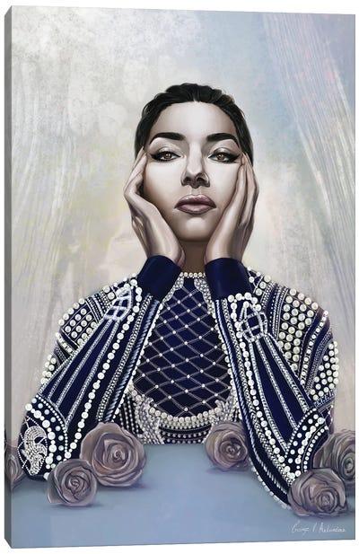 Callas Canvas Art Print
