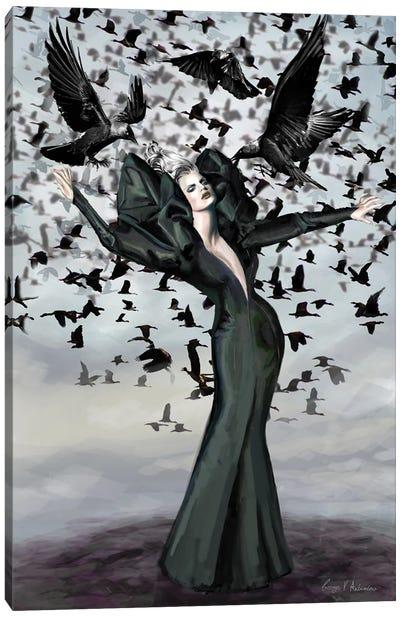 The Birds 4 Canvas Art Print