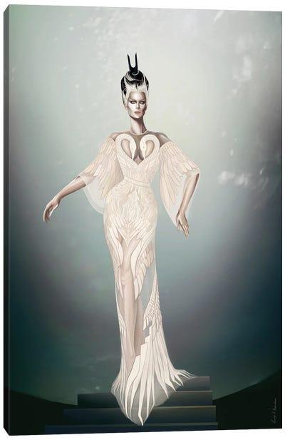 Swan Queen Canvas Art Print