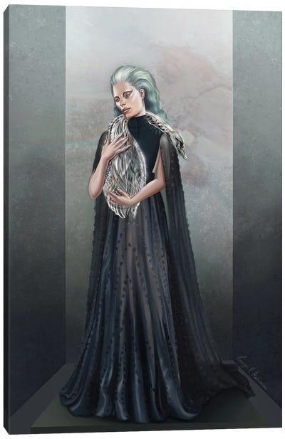 Holding A Soul Canvas Art Print