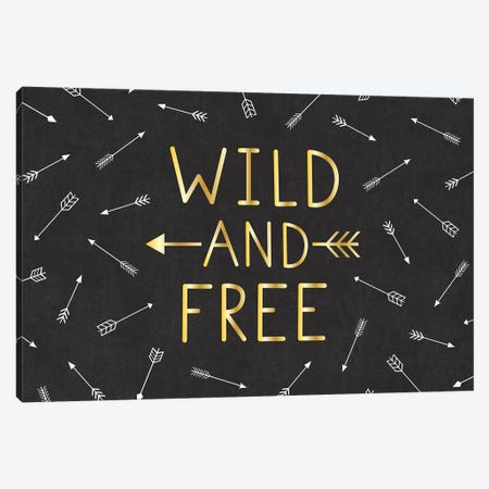 Wild And Free Canvas Print #GVE1} by Gail Veillette Art Print