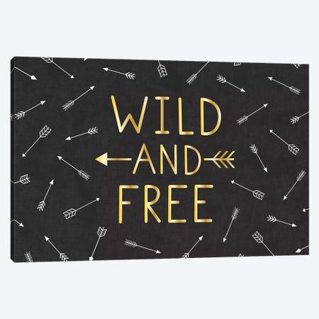 Wild And Free Canvas Print #GVE1} by Gail Veillette Art Print