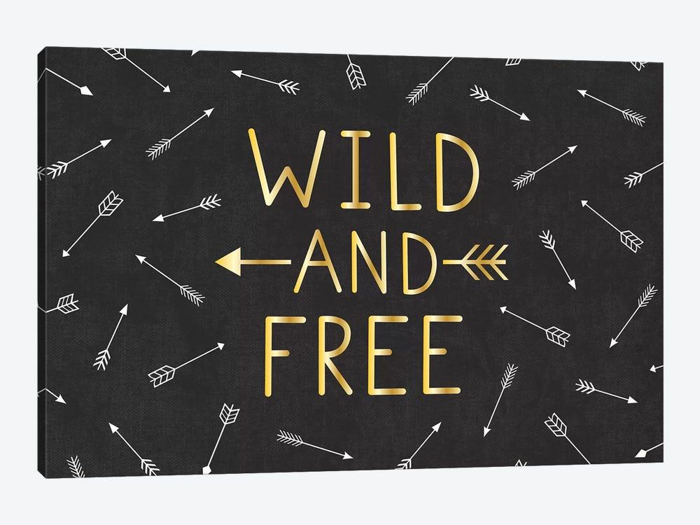 Wild And Free by Gail Veillette 1-piece Canvas Artwork