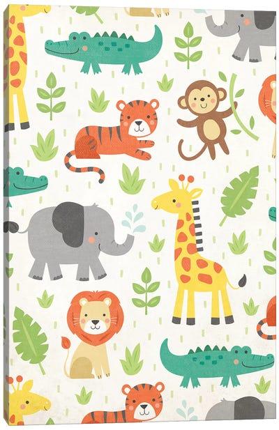 Wild About Baby I Canvas Art Print