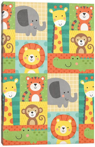 Wild About Baby III Canvas Art Print