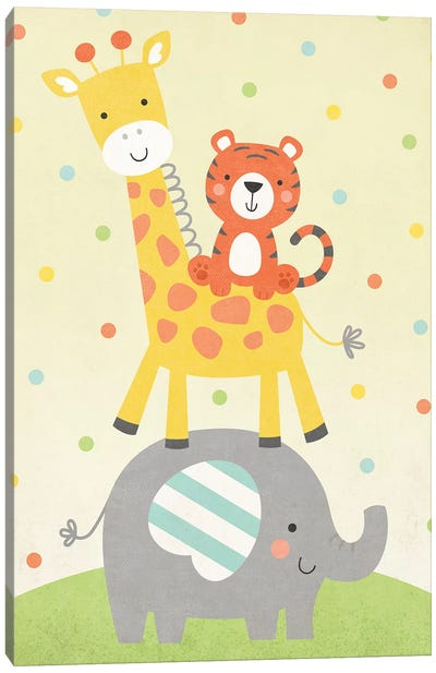 Wild About Baby IV Canvas Art Print