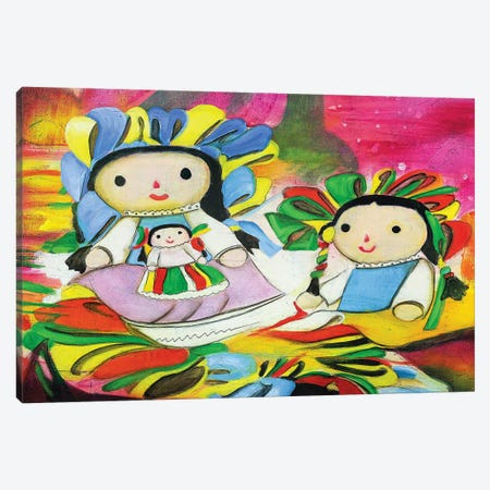 Pasion Mexicana I Canvas Print #GVI116} by Gabriela Villarreal Canvas Art