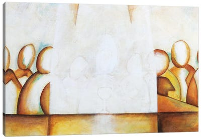 Ultima Cena II Canvas Art Print
