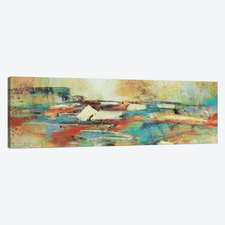 Puente Ocre Canvas Print #GVI12} by Gabriela Villarreal Canvas Wall Art
