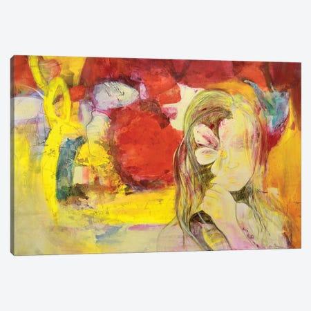 A Flor De Piel Canvas Print #GVI131} by Gabriela Villarreal Canvas Art Print