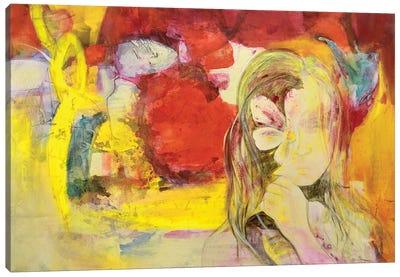 A Flor De Piel Canvas Art Print