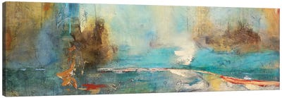 Sabiduria en Azul Canvas Art Print