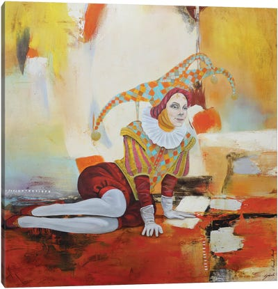 Arlequín II Canvas Art Print