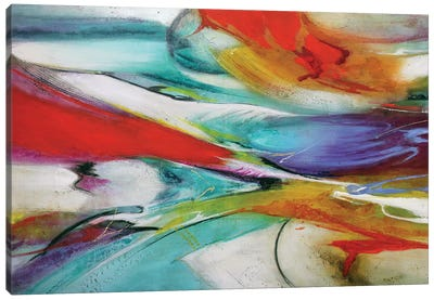 En Color 1 Canvas Art Print