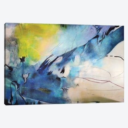 Explosión Aqua II Canvas Print #GVI197} by Gabriela Villarreal Canvas Wall Art