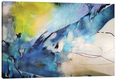 Explosión Aqua II Canvas Art Print