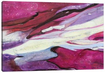 Explosión Magenta I Canvas Art Print