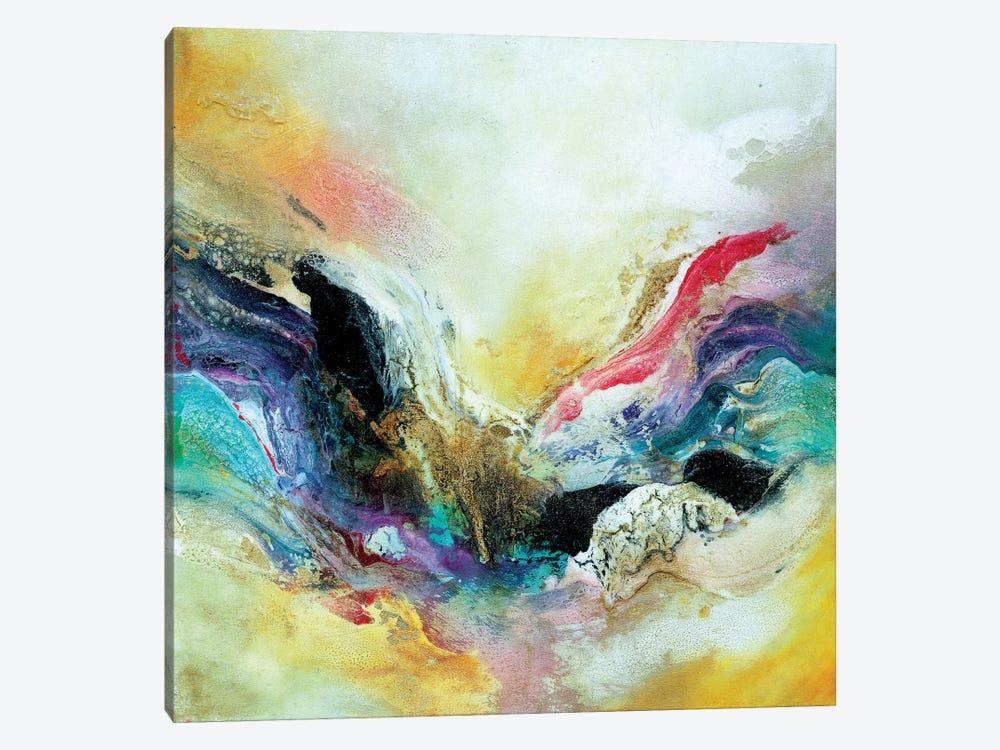 Abstracto I by Gabriela Villarreal 1-piece Canvas Art Print