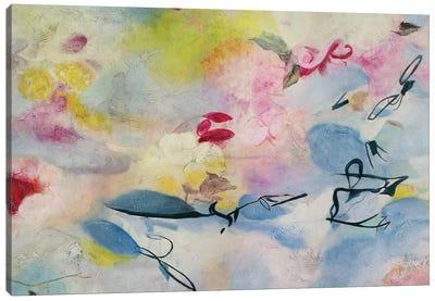 Flores En Paraíso I Canvas Art Print