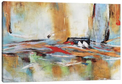 Hacia el Horizonte II Canvas Art Print
