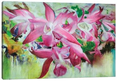 Orquídeas I Canvas Art Print