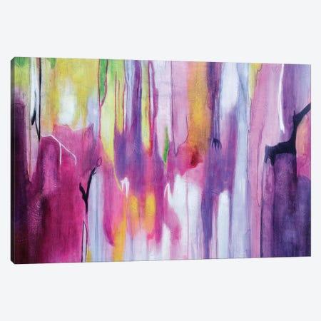 Explosión Magenta II Canvas Print #GVI34} by Gabriela Villarreal Canvas Print