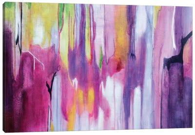 Explosión Magenta II Canvas Art Print