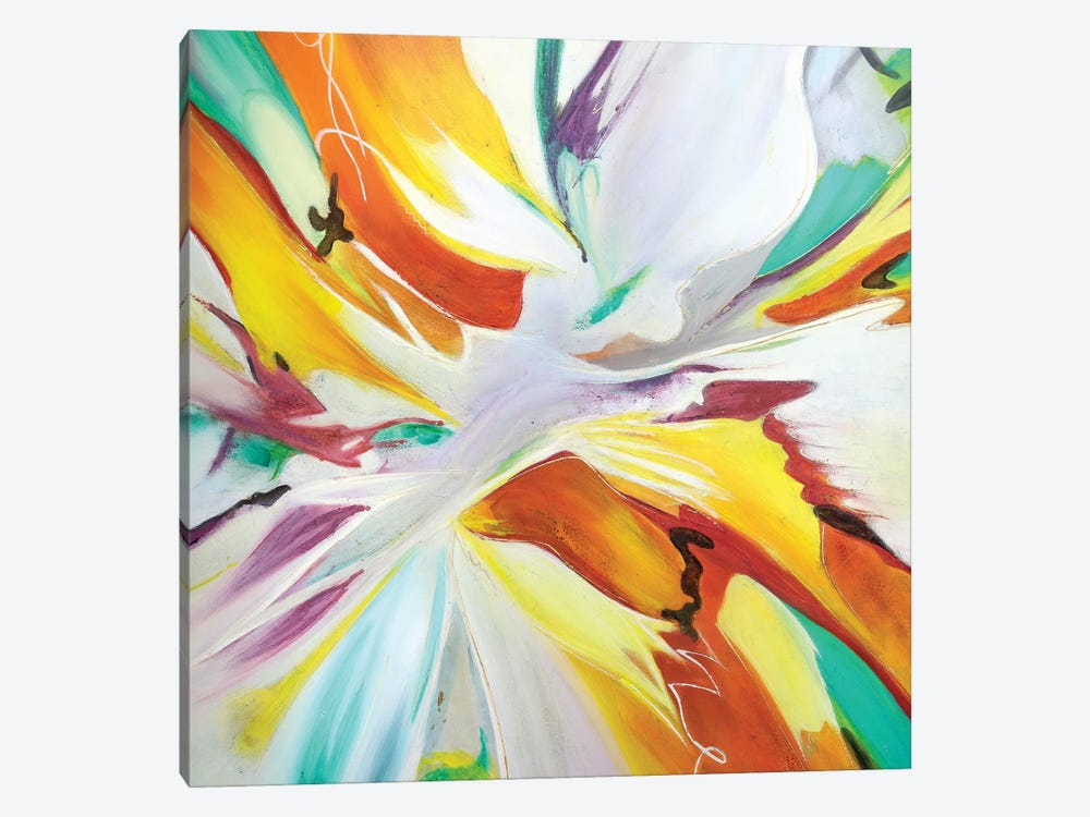 Flama II by Gabriela Villarreal 1-piece Canvas Print