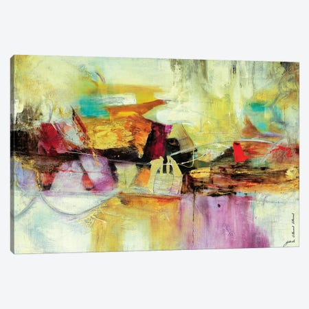 Intensa Composición III Canvas Print #GVI42} by Gabriela Villarreal Canvas Art Print