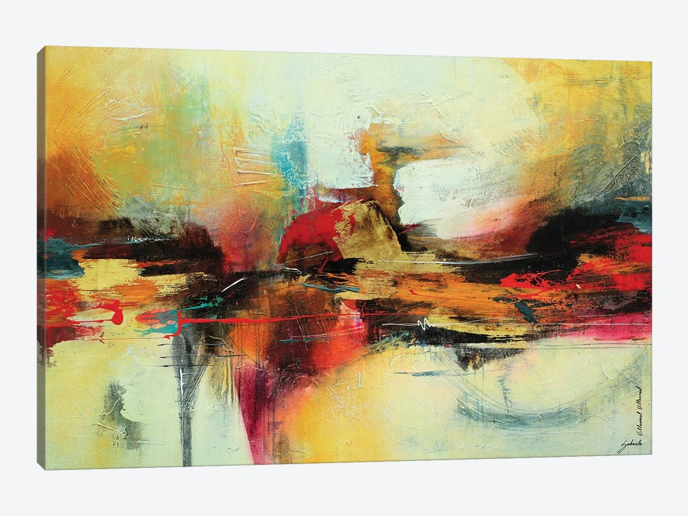 Intensa Composición IV by Gabriela Villarreal 1-piece Canvas Art