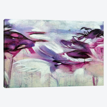 Jardín Purpura I Canvas Print #GVI48} by Gabriela Villarreal Canvas Print