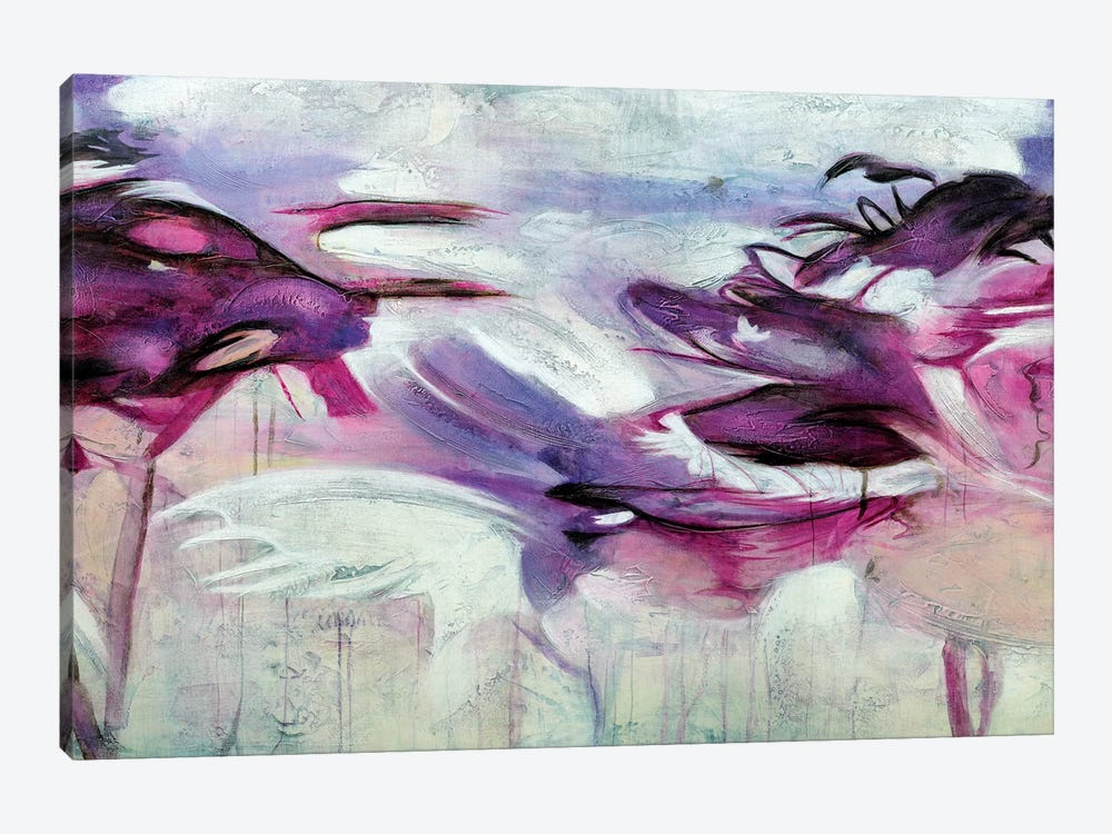 Jardín Purpura I by Gabriela Villarreal 1-piece Canvas Art Print
