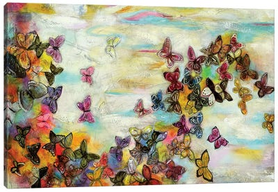 Mariposas II Canvas Art Print