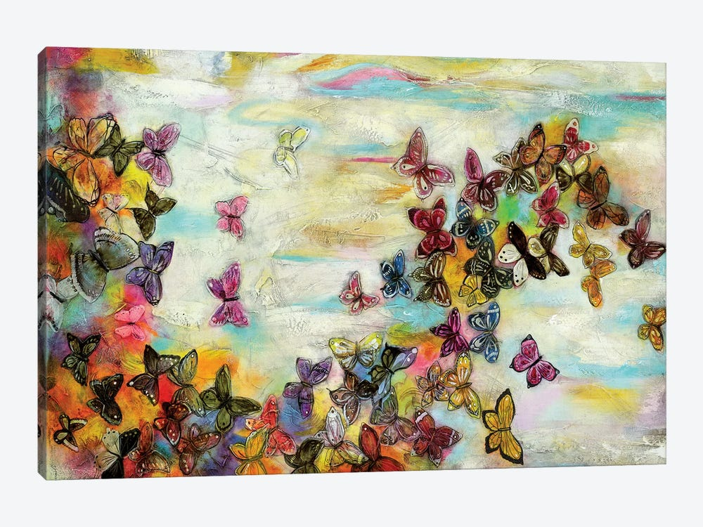 Mariposas II by Gabriela Villarreal 1-piece Canvas Art