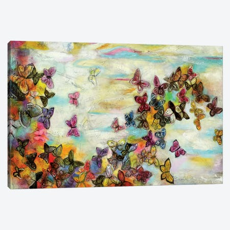 Mariposas II Canvas Print #GVI50} by Gabriela Villarreal Canvas Art