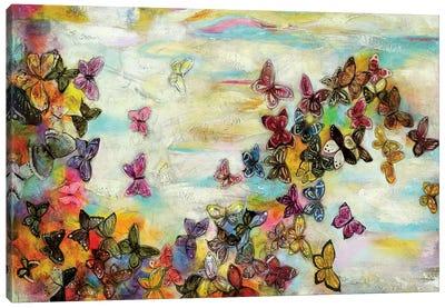 Mariposas II Canvas Art Print