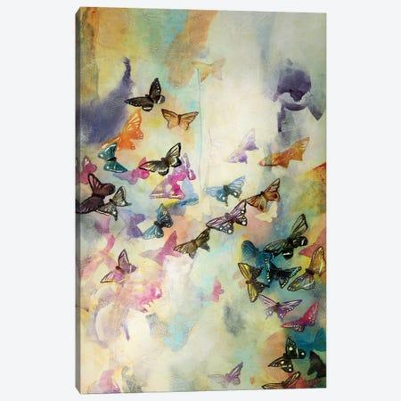 Mariposas III Canvas Print #GVI51} by Gabriela Villarreal Canvas Wall Art