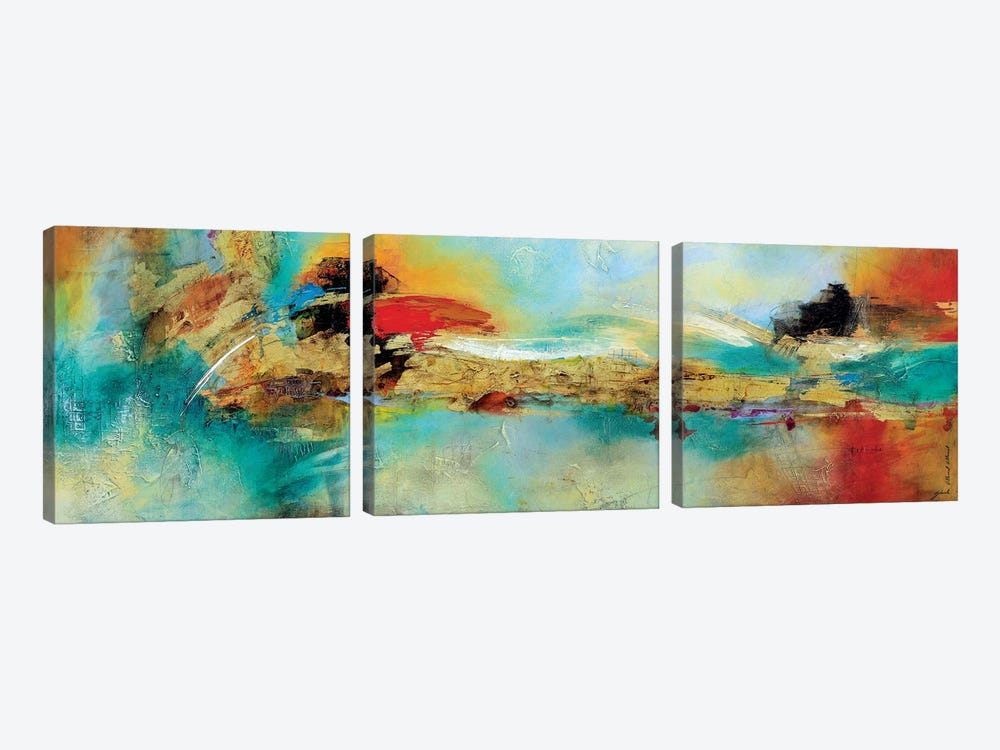 Somnus II by Gabriela Villarreal 3-piece Canvas Print