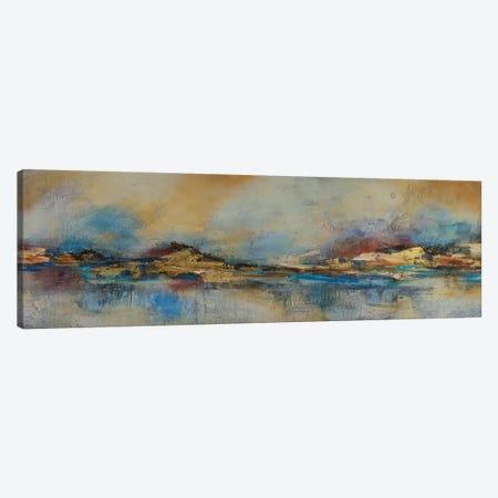 Espejismo Ocre Canvas Print #GVI67} by Gabriela Villarreal Canvas Wall Art