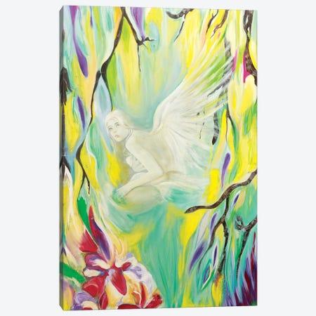 Angel De Cristal I Canvas Print #GVI77} by Gabriela Villarreal Canvas Art Print