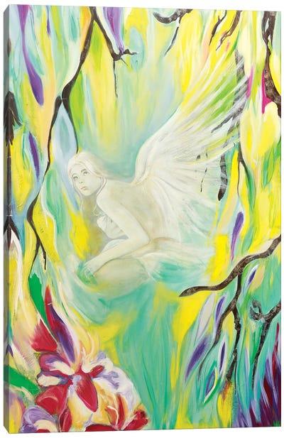 Angel De Cristal I Canvas Art Print