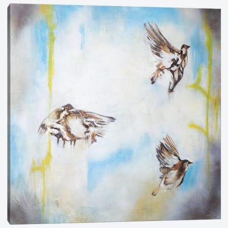 Aves Al Viento I Canvas Print #GVI78} by Gabriela Villarreal Canvas Artwork