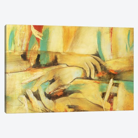 Entre Mis Manos IV Canvas Print #GVI99} by Gabriela Villarreal Canvas Wall Art