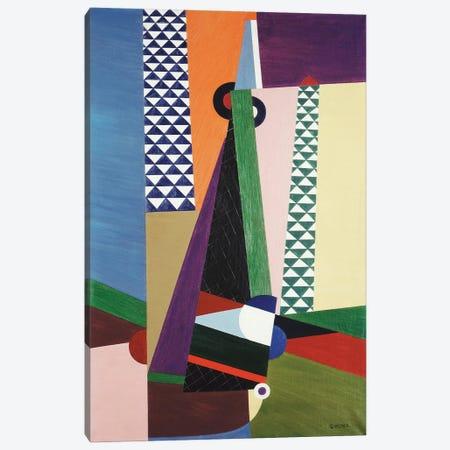 Composition Geometrique, 1922 Canvas Print #GVL1} by Georges Valmier Canvas Wall Art